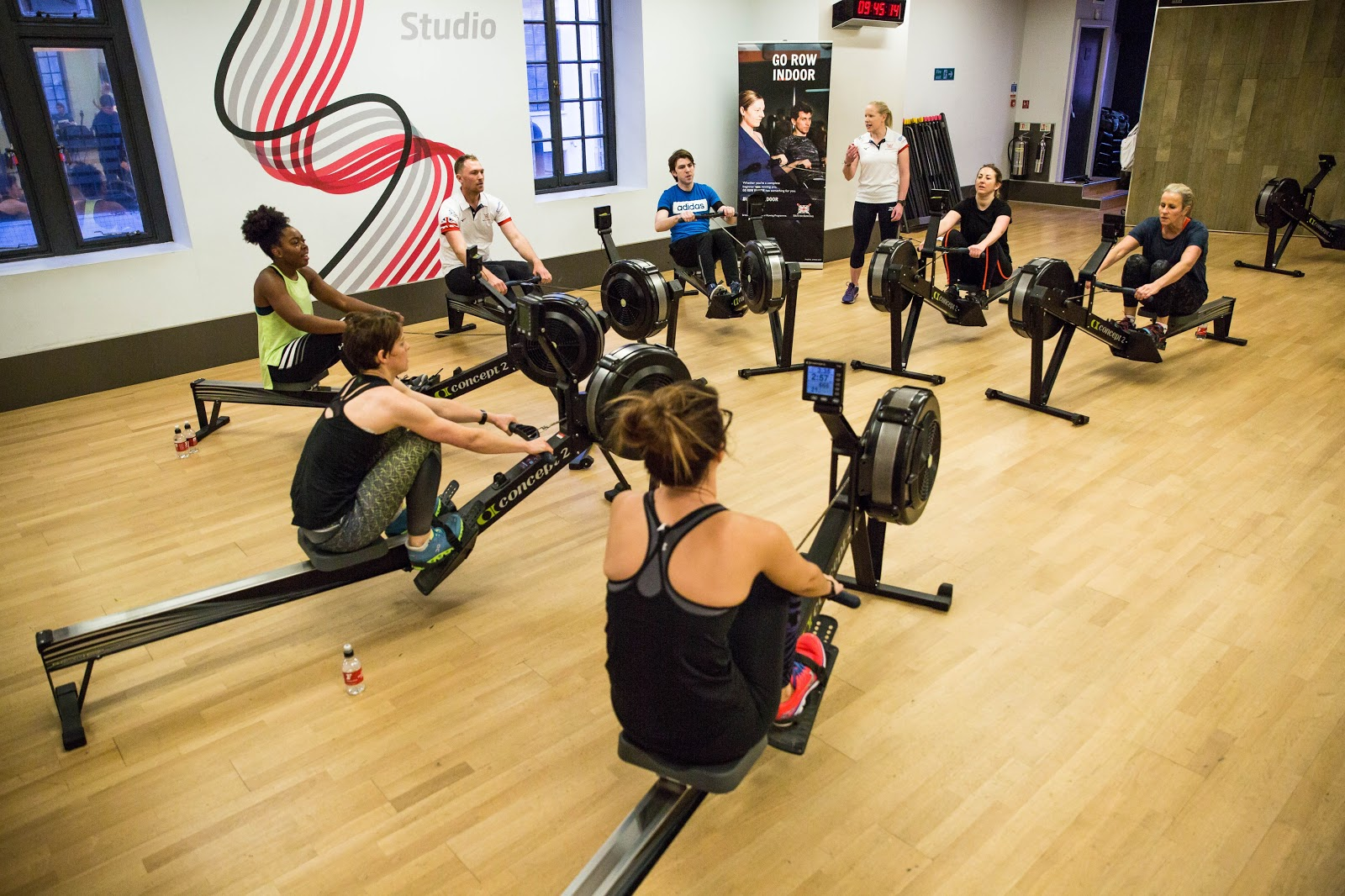 Rowing camps and workshops